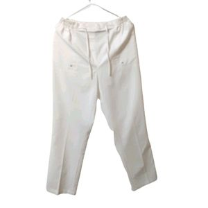 ALIA High Waisted Drawstring Ankle Pants Size 12